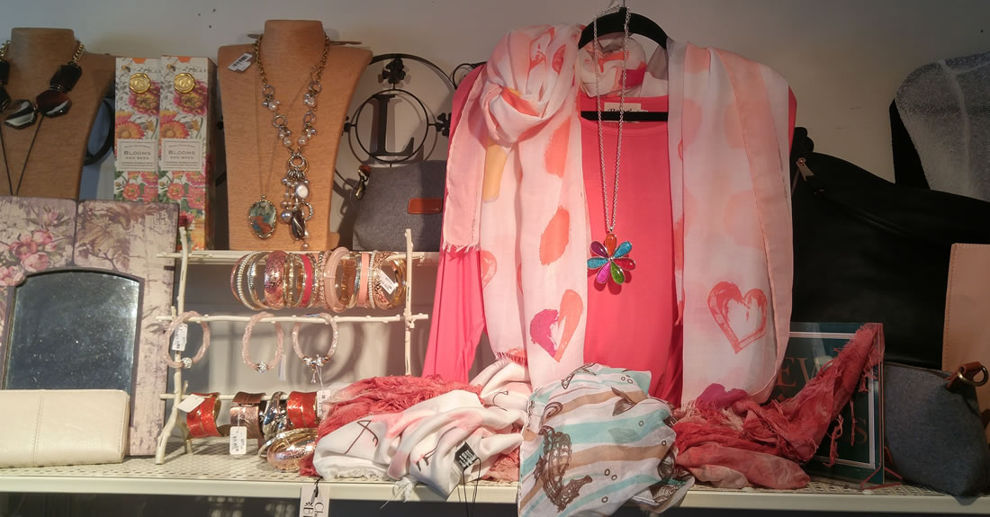 Gifts and clothing available at Sweet Thoughts